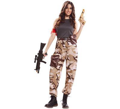 Fortnite kostuum - Soldaat dames
