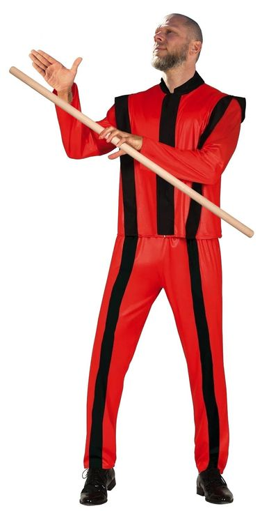 Michael Jackson kostuum Thriller Acrobaat