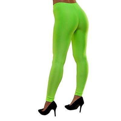 Neon legging groen