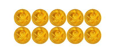 Piraten munten 10 stuks