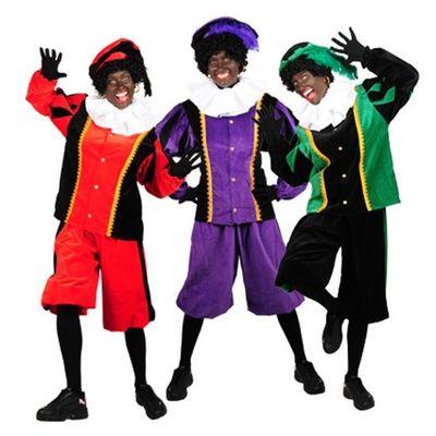 Foto van Piet kostuum katoenfluweel