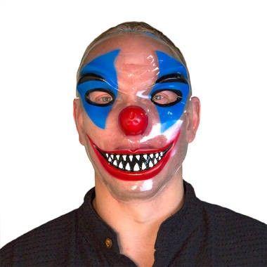Transparant clown masker