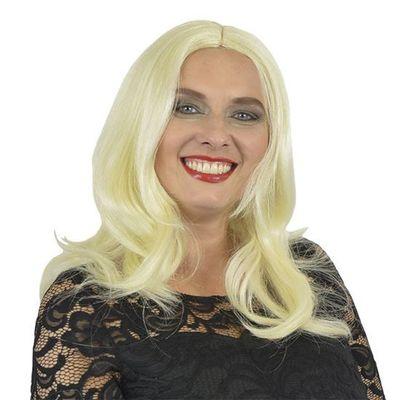 Foto van Jaren 50 pruik platina blond
