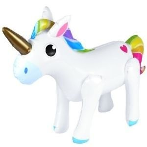 Opblaas Unicorn 53 cm