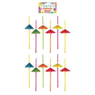 Foto van Paraplu rietjes