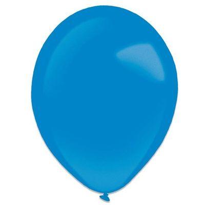 Ballonnen royal blue metallic (35cm) 50st