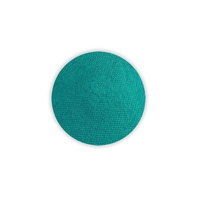 Superstar schmink waterbasis pauw groen shimmer (16gr)