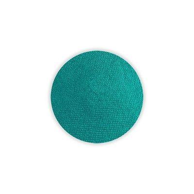 Foto van Superstar schmink waterbasis pauw groen shimmer (16gr)
