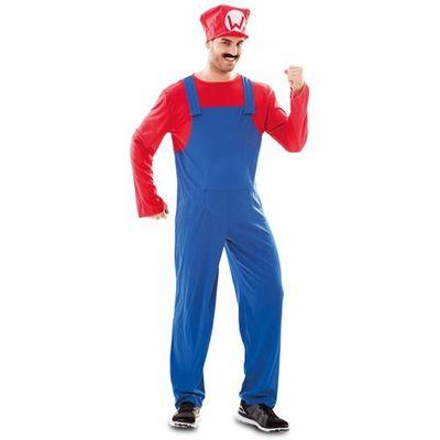 Mario kostuum man