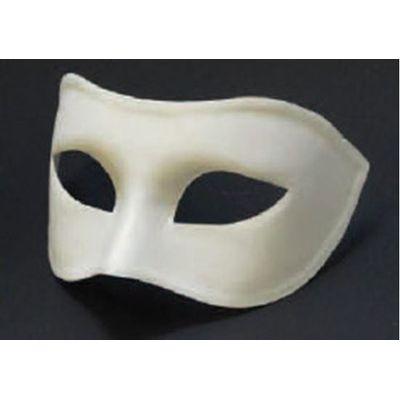 Venetiaans masker Colombina grezzo wit
