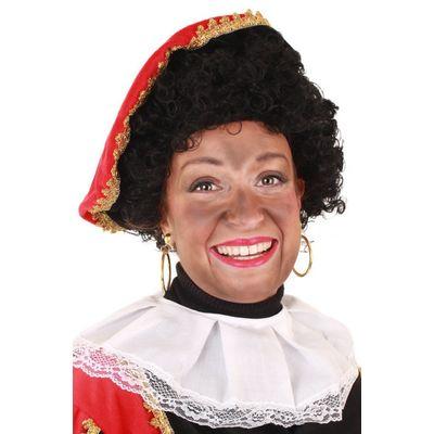 Foto van Pruik Piet krul verstelbare kap zwart