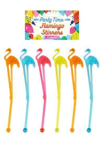 Flamingo roerstaafjes