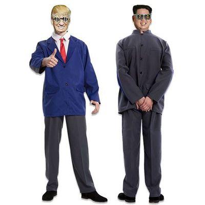 Foto van Double fun! Presidenten kostuum