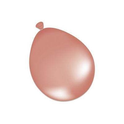Ballonnen parel roségoud (12,5cm) 100st
