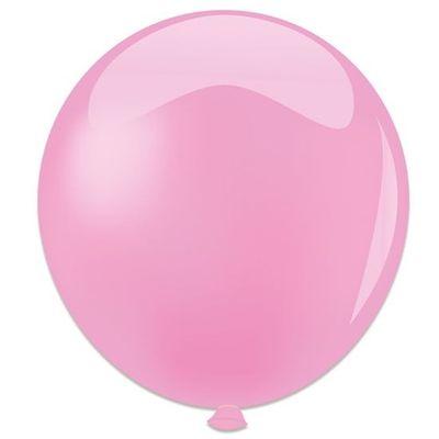 Foto van Topballon babyroze (91cm) 6st