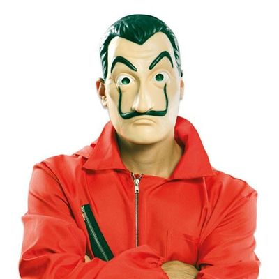 Foto van La Casa de Papel Masker - latex