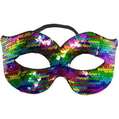 Regenboog oogmasker