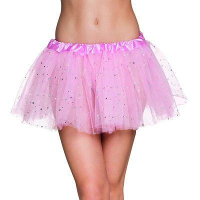 Licht roze tutu met glitters