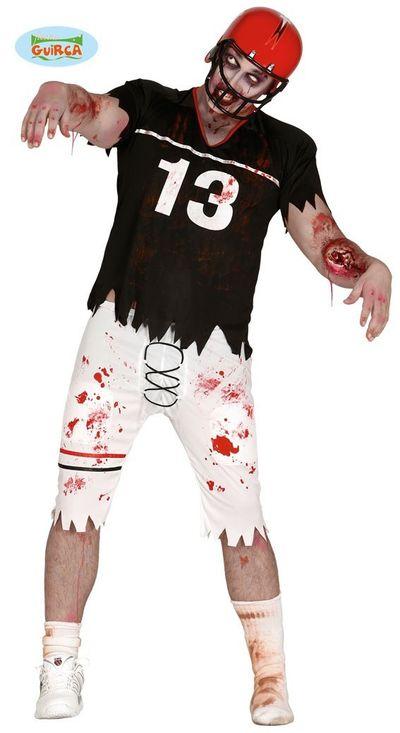 Rugby kostuum zombie