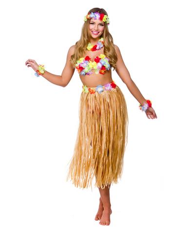 Hawaii kostuum vrouw