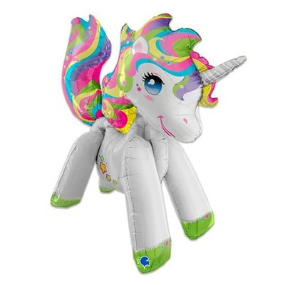 Folieballon unicorn (107cm)