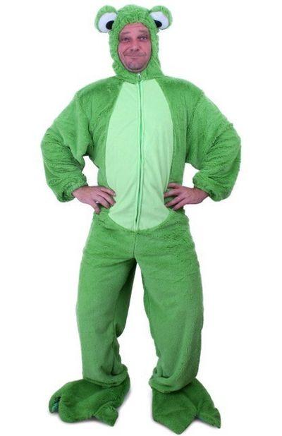 Kikker kostuum groen