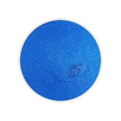 Foto van Superstar schmink waterbasis blauw shimmer (45gr)