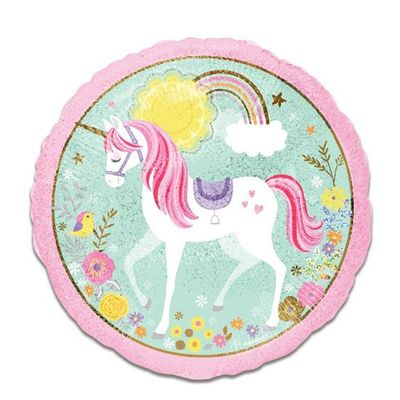 Folieballon unicorn (45cm)