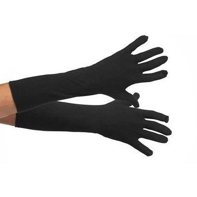 Foto van Handschoenen zwart lang