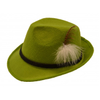 Afbeelding van Oktoberfest hoed grasgroen