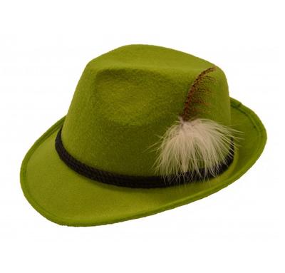 Oktoberfest hoed grasgroen