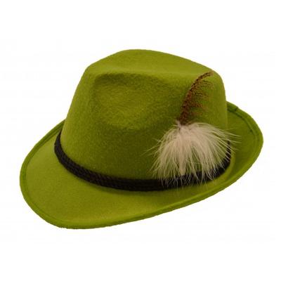 Foto van Tiroler hoed grasgroen