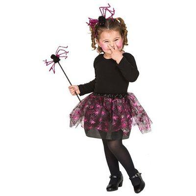 Heksen - roze spinnen set