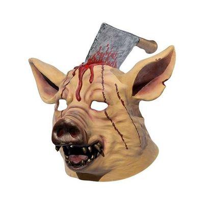 Foto van Masker geslacht varken