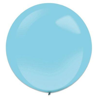 Ballonnen Caribbean blue (60cm) 4st