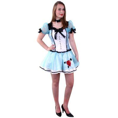 Foto van Alice in Wonderland kostuum