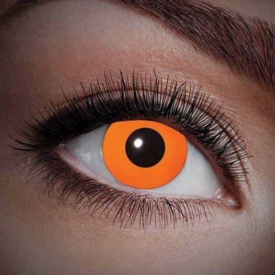 Foto van UV oranje jaarlenzen