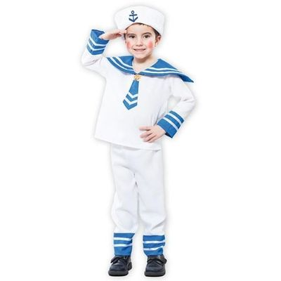 Marine kostuum jongen
