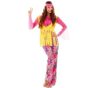 Hippie kostuum vrouw