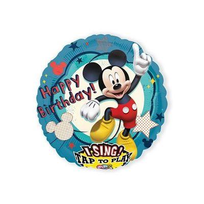 Foto van Folieballon Mickey Mouse muziek