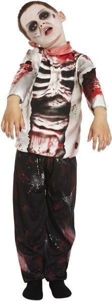 Zombie pak jongen