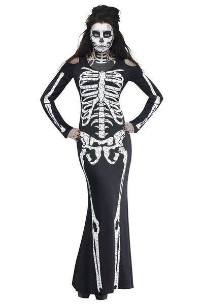 Skelet botten jurk dames