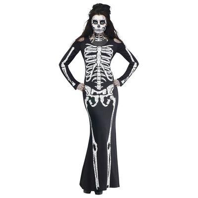 Foto van Skelet botten jurk dames
