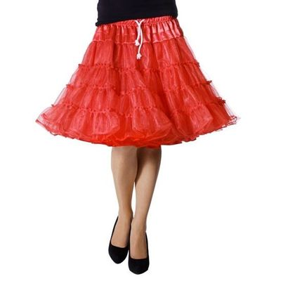 Petticoat rok rood