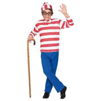Foto van Waar is Wally kostuum kind