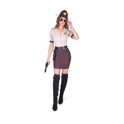 Foto van Sheriff kostuum dames