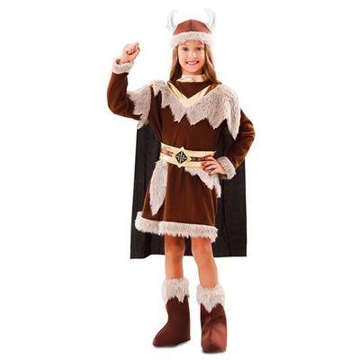 Foto van Viking kostuum meisje