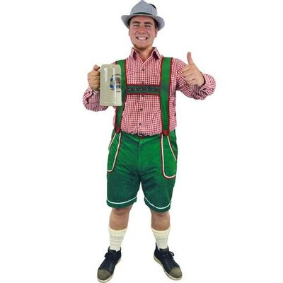 Groene Tiroler broek