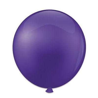 Ballonnen kristal paars (61cm)