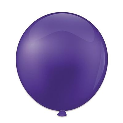 Foto van Ballonnen kristal paars (61cm)